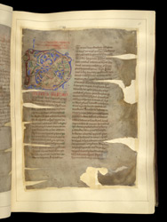 Decorated Initial, In 'The Winchcombe Chronicle' f.46r